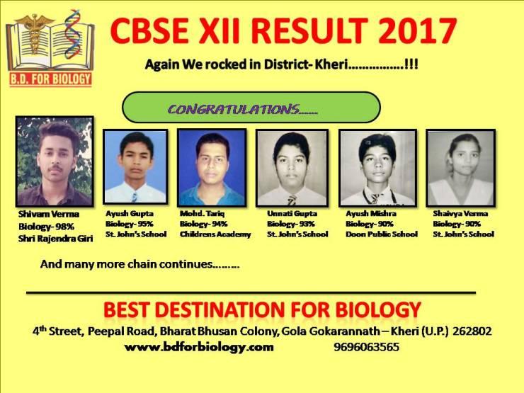 result 2017| www.bdforbiology.com | Best Destination for Biology