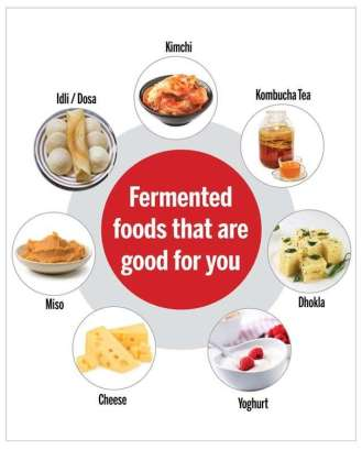 fermented food by yeast | www.bdforbiology.in